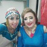صورة تجمع #ليليا_بن_شيخة مع الفنانة القديرة #هيام_يونس  #صفاقس_عاصمة_الثقافة_العربية_2016  @Lilia_BenChikha https://t.co/ODe59XydBi
