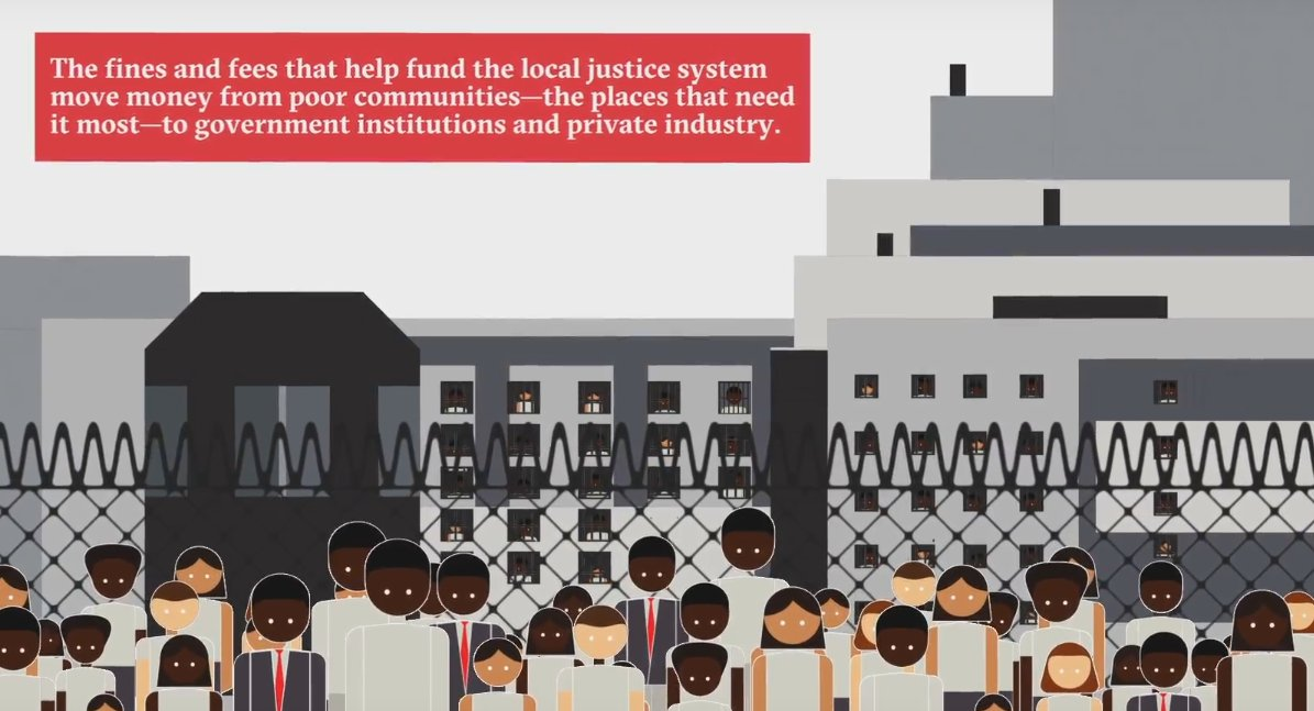 What happens when you can't afford to pay the justice system's #FinesAndFees? Take a look: https://t.co/DmK820Go00 https://t.co/bTLvnY3MY0