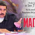 Sintoniza esta noche a las 7:00pm #ContactoConMaduro61 con @NicolasMaduro por @VTVcanal8 @patrullaseniat @SeniatRNO https://t.co/j9qswvPMEu
