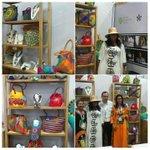 Emprendedoras #SENA de La Guajira exponen artesanías y productos wayúu en #Colombiamoda2016. @INEXMODA https://t.co/FEYtmsrvOu