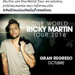 @ricky_martin OJALA VENGAS A URUGUAY !! @RM_Team POR FAVOR !!! URUGUAY QUIERE OWT 💙💛💙💛💙💛💙💛💙💛💙💛💙💛💙 https://t.co/T2dOd4UpgW