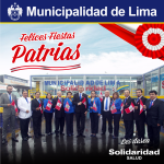 ¡Felices Fiestas Patrias #Perú ! @mun_salud @MuniLima https://t.co/ibLtSZaOii