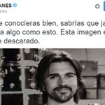 """Juanes: """"esta imagen es un montaje descarado"""" https://t.co/CXnz0AaEuS Detalles en el enlace #OigoLAFm https://t.co/j9JyKYm4TN"""