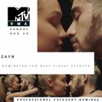 @zaynmalik did you hear? youre nominated at the 2016 #vmas! congrats 💥 https://t.co/CGTLSIBpj8 https://t.co/GWbeho1JXh