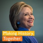 .@HillaryClinton just officially became the Democratic Partys nominee for president. History is happening. https://t.co/DObyyAA0SG
