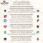 La Liga Sudamericana de Clubes presentó sus autoridades. Damiani y Renzo Gatto por Uruguay. @LigaSCF https://t.co/lwwo3NsepS