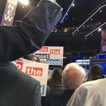 This #DemsInPhilly is a sham. They wont let Bernie delegates into the sight of the camera. We won 48% #DemsInPhilly https://t.co/jI8SyExRAd