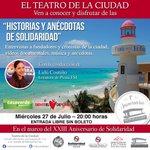Mañana una cita con la historia de #PlayadelCarmen en el #TeatrodelaCiudad 🎉🚲🌴💦🌙🇲🇽 @CorazondePlaya @BeSocialEdu https://t.co/q1pCxkfsP1