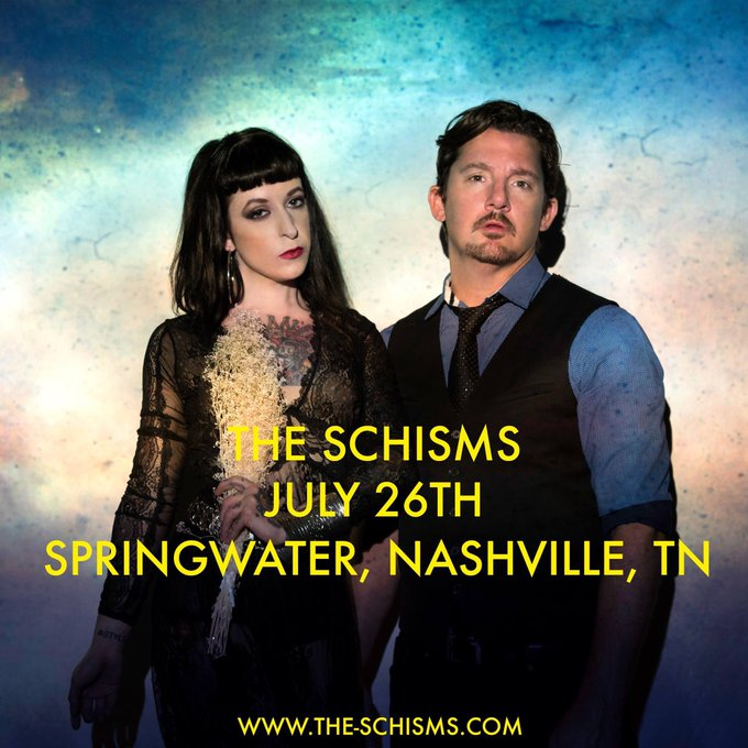 I'm back in #Nashville for the second time in a month! See me with @theschisms tonight at @SpringwaterNash
