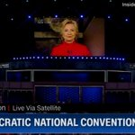 """Hillary Clinton Puts a """"Crack in That Glass Ceiling"""" to Conclude Day 2 of DNC https://t.co/V229bE03L4 #DemsInPhilly https://t.co/2VqYiNXMkC"""