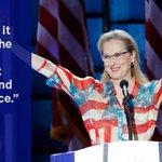 Meryl Streep praises @HillaryClinton, other female pioneers in DNC speech #DemsInPhilly https://t.co/ZlUDhbJF6H https://t.co/xXXLqOWgkD