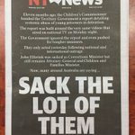 The front page of @TheNTNews today #dondale #4corners #ntpol https://t.co/8aT03hLvCH