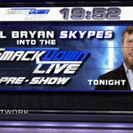 NEXT on the #SDLivePreShow: New SDL GM @WWEDanielBryan! See it LIVE NOW on @WWENetwork! https://t.co/OpTKalVp9M