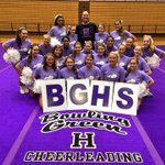 Bowling Green HS worked so hard during their choreography. This year everyone is going to know what a Purple is! https://t.co/Vf1iK3mffO