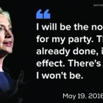 We congratulate Sec Clinton for stealing the Dem Nomination and being elected leader of the Dem Party #RollCallVote https://t.co/vkXdbIH0W3