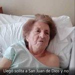 Llegó sola al Hospital San Juan de Dios, Haedo, GBA. Nadie sabe quién es. Por favor RT https://t.co/BcZBqctxhu