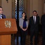 Presidente Morales designa a Lucrecia Hernández como nueva ministra de Salud. Fotos @DramirezDCA. https://t.co/8cMbAXIc8E