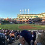 😄 news! Another beauty in downtown Cleveland. 😐 news: Rendons homer has Washington up, 4-2. https://t.co/gmPvWo6TeF