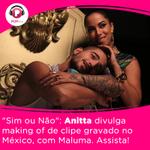 #SimOuNao Confira o making of do clipe novo da @Anitta  --> https://t.co/pe67qWJSzr https://t.co/eqVc847z7b