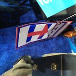 """One of the """"handmade"""" signs passed out to the HRC delegates,after they banned Bernies homemade signs. #DemsInPhilly https://t.co/d9dV6fRJuW"""