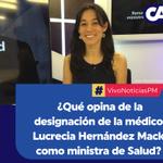 La nueva ministra de Salud, hija de la antropóloga Mirna Mack, es médico cirujano y tiene maestría en Salud Pública. https://t.co/VuKxSUa9Yu