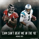 36-year-old Michael Vick says he can still beat Cam Newton in the 40 https://t.co/kk3o9uWuYh