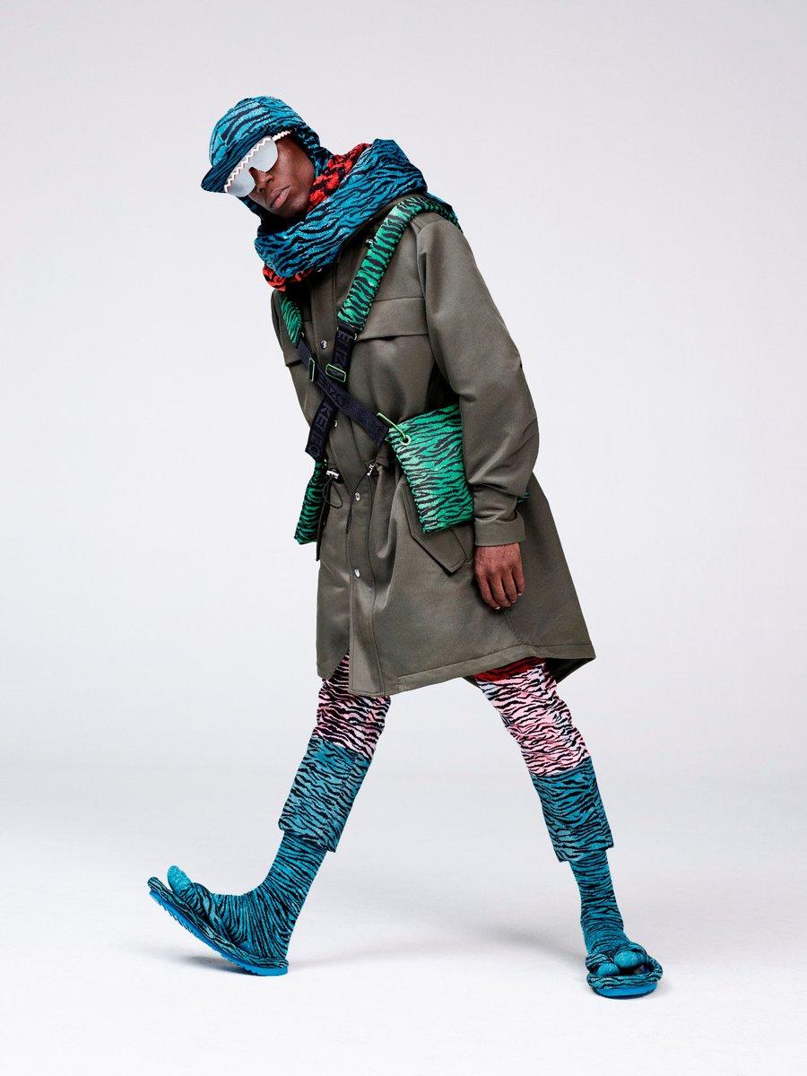 "H&MとKENZOのコラボ ビジュアル公開 - ""タイガープリント""のウェア&小物、16年11/3よ…"