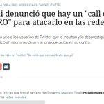 Massa, Tinelli denuncian ataques del Grupo de Tareas de redes sociales de Marco Peña. Y la justicia? #AtaqueVirtual https://t.co/LIK1dP5VHm