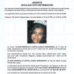 URGENTE Gladis Maricela Castellanos Hernández de 17 años desapareció el 25 de julio en La Gomera Escuintla #Comparte https://t.co/pX5fx1eNx7