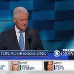 WATCH: Former President @BillClinton takes the DNC stage https://t.co/H9n7JJUntx #DemsInPhilly https://t.co/IMAenpEww9