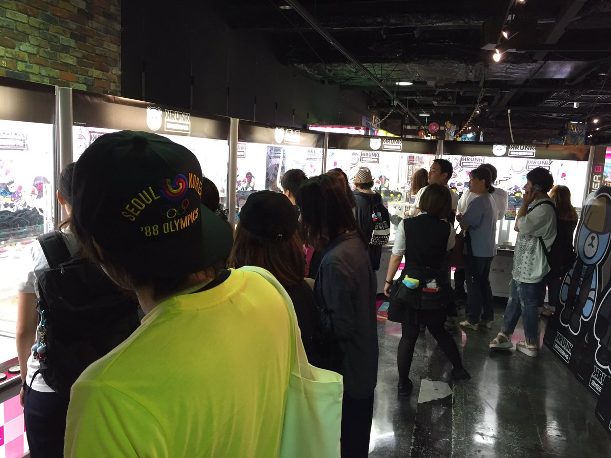 【#KRUNK×#BIGBANG】 梅田ジョイポリス、開店と同時に多くのお客様で賑わっております!ズ…