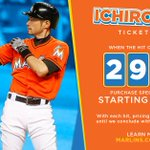 2⃣,9⃣9⃣7⃣ hits = select #Marlins tickets behind Home Plate for just $29.97! #Ichiro3000   https://t.co/L69S7OhKyr https://t.co/1UYHC1Nvqr