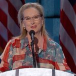 """Meryl Streep: """"What does it take to be the first woman to do anything? It takes grit and it takes grace."""" #ImWithHer https://t.co/A4qmliEEFc"""