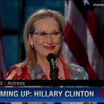 """Meryl Streep:""""You people have made history & youre going to make history again in November"""" https://t.co/2ISO4QmQeG https://t.co/PZBJywknl2"""