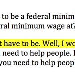 Here, Trump took three positions on the federal minimum wage in two sentences on OReilly: https://t.co/MLlCCh4nQP
