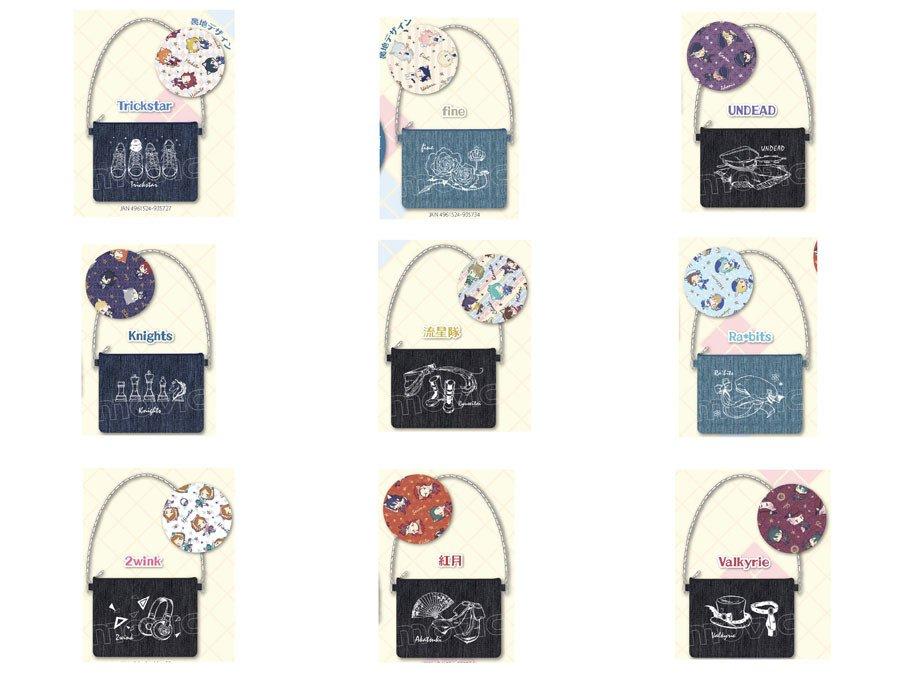 【あんさんぶるスターズ!】ミニタオルコレクション、デニムクラッチバッグ、メタルチャームコレクションの…