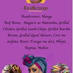 KwaMurongo Traditional Restaurant. *Come hungry. Leave happy* 9 Normandy Road, Alexandra Park, Harare. https://t.co/LdGEWBDM28