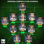 WOW: The potential Juventus starting XI...even without Paul Pogba. (via @br_uk) https://t.co/N70iufyafw