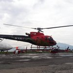 Fishtail Air's newest helicopter is ready to fly in Nepalese Sky! #NepalNow #VisitNepal https://t.co/4zn1QRfRMU https://t.co/Wemyg1epmm