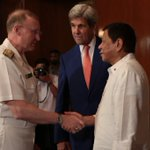 Pres Duterte received US Sec Kerry in Malacanang @Malaya_Online https://t.co/C4vjv9ywsv