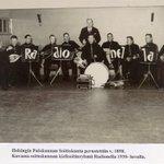 Helsingin Palokunnan Soittokunnan kielisoitinryhmä v. 1930. Soittokunta perustettiin v.1898 #pelastustoimi #helsinki https://t.co/8quRLBYbwr