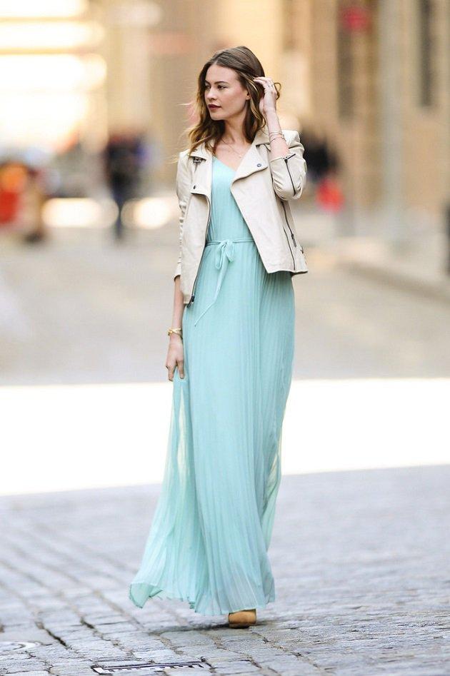 Como lucir un vestido largo