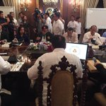 LOOK: Arroyo, Ramos, Estrada, Aquino present at Dutertes NSC meeting (Photo from Palace) | via @trishamacas https://t.co/TONQomiB3V