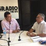 Ya con nuestro invitado de hoy, Jesus Bello Herrera Presidente grupo Skal https://t.co/eFESGg9Wle