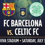 RT & FOLLOW to WIN 4 tickets to @FCBarcelona V @celticfc on Saturday, July 30th! Ts&Cs apply https://t.co/Z4fQww6yWu https://t.co/7C1QCTx4L9