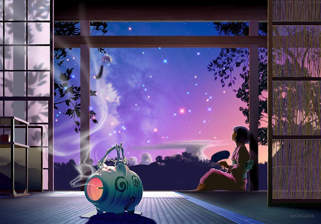 【8月のお勧め天文現象】全て肉眼でOK ▶8/9 伝統的七夕 ▶8/12-13 ペルセウス座流星群 …