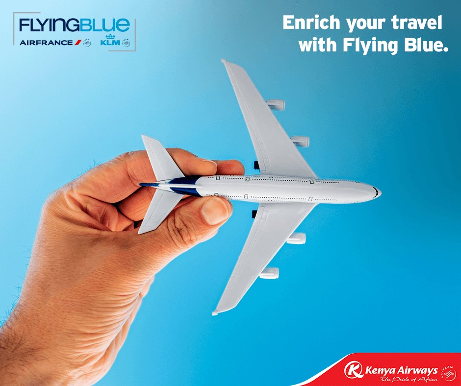 Earn Miles with Kenya Airways and our many partners. Sign up for free here: