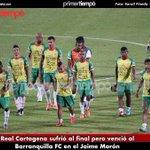 Real Cartagena sufrió al final pero venció al Barranquilla FC en el Jaime Morón https://t.co/upZ77wYVZC https://t.co/Cr1mHwUOR5