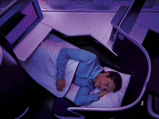 RT @SITANAM: .@VirginAustralia unveils new business class-cabin at @flyLAXairport