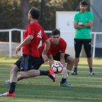 ENTRENAMIENTO | Última sesión de trabajo antes del partido con el @SevillaFC Atl. #Osasuna. https://t.co/EZAXzbvhZU https://t.co/clSMJP3YAF